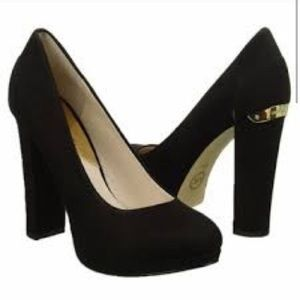 """Suede Michael Kors """"Haven Pump"""" heels"""